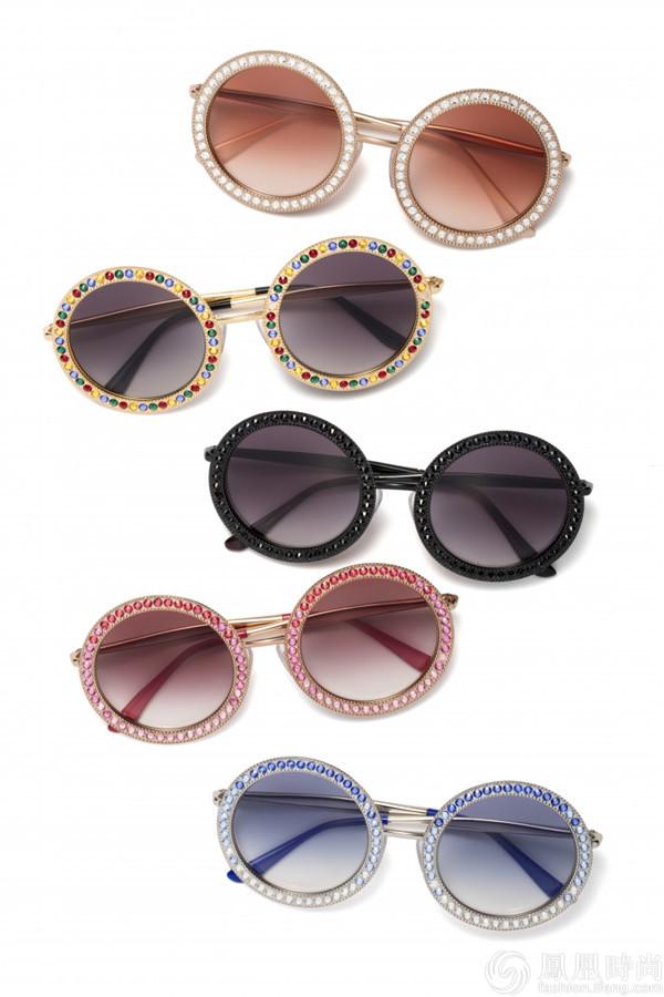 今年春夏凹造型必备:Dolce&Gabbana Mambo系列眼镜