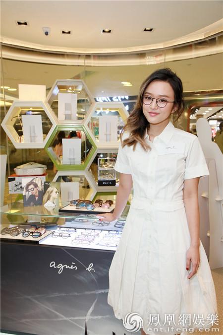 陈明憙担任法国眼镜品牌一日店长 3月首发粤语单曲