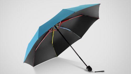 """永盛伞业有限公司设计的""""色特拉""""环保折叠雨伞,利用传统木工榫卯结构"""