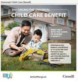 加拿大全民儿童托儿补贴