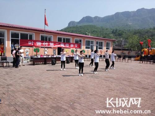 叶营村的文化活动。蔡瑞强 摄
