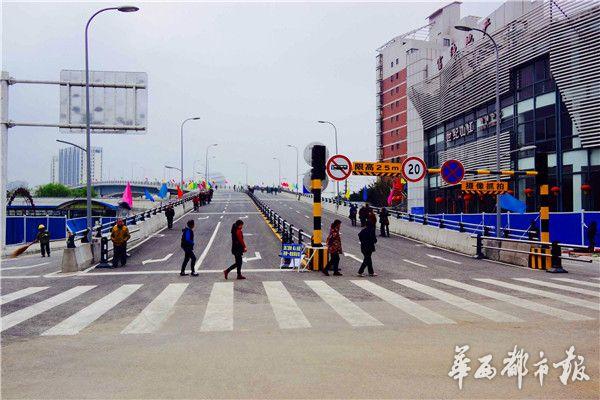 报曾报道《绵阳涪江三桥 六年大修 按既定规划,将于3月30号晚24时