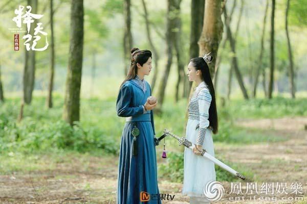 """《择天记》鹿晗娜扎上演""""盗墓笔记"""" 入周园寻遗产"""