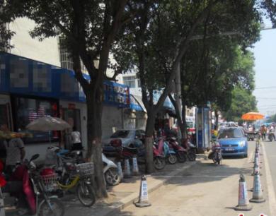 邓州:城区部分主干道频现停车难