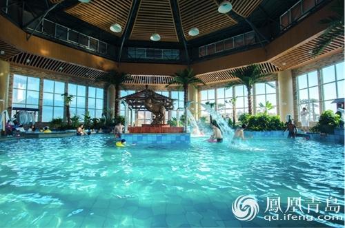藏马山丹溪温泉建 亲子水世界 成青岛首家儿童水上乐园