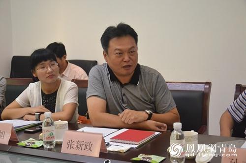 青岛台湾同胞投资企业协会会长,青岛锐宗集团董事长张新政介绍说,25年