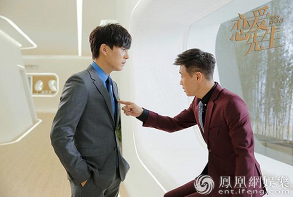 《恋爱先生》李乃文一炮而红 网友:靳东又带火一位