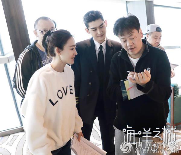 电视剧《海洋之城》热拍 张翰王丽坤共赴邮轮之旅
