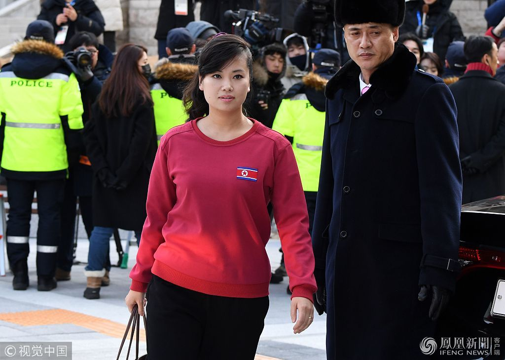 2018年2月8日 朝鲜艺术团韩国演出 15万人哄抢560张票