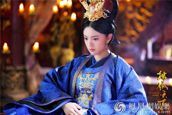 安以轩《独孤天下》演技炸裂 完美演绎权利的女人