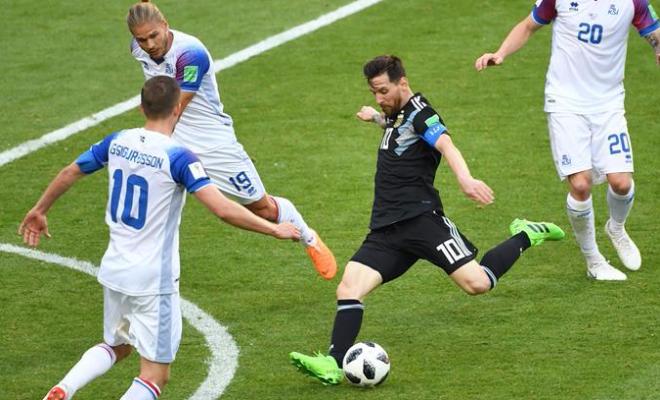 【世界杯】D组:阿根廷队战平冰岛队