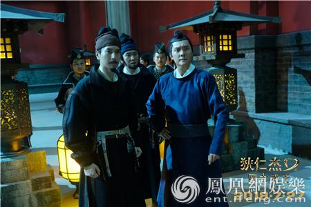 《狄仁杰》欢乐幕后大曝光 林更新花式卖萌
