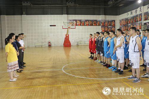 永城市中心医院首届篮球友谊赛圆满成功