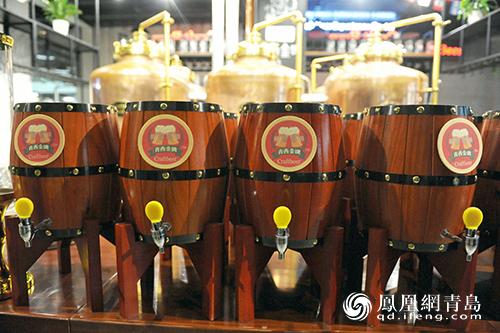 细腻清香沁人心脾 精酿鲜啤新品亮相青岛国际啤酒节
