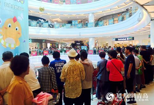 青岛奥克斯广场盛大开业 3天引爆43w 客流