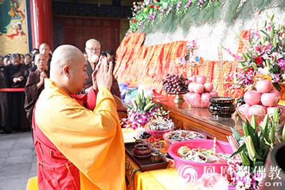 广西桂平西山观音岩观音菩萨圣像装藏:上千信众见证