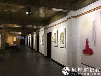 四川崇州白塔寺举办书画作品展恭迎达摩祖师圣诞_达摩-祖师-书画家-禅宗-慧能