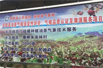 """湖南首个!邵阳县茶油获得优质农产品国家气候标志""""width=""""360"""""""