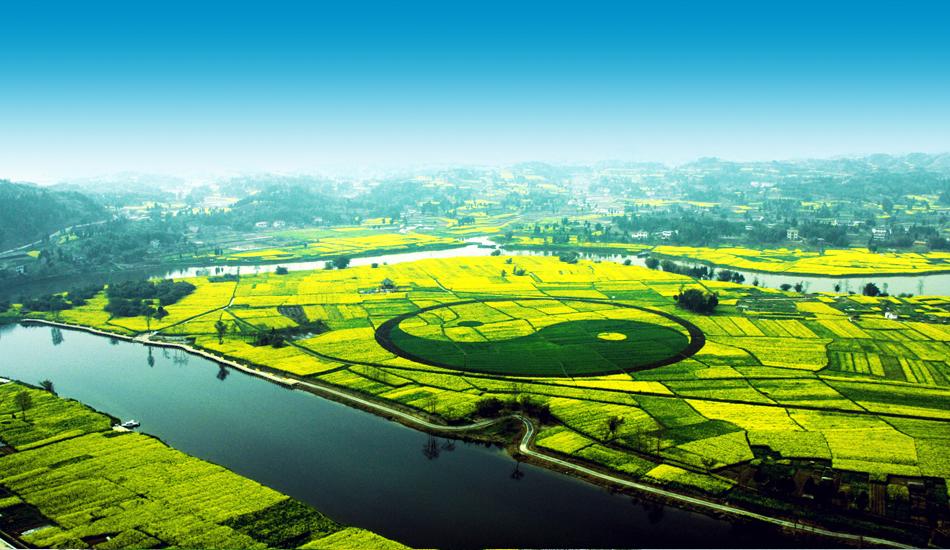 潼南,中国最美油菜花海。
