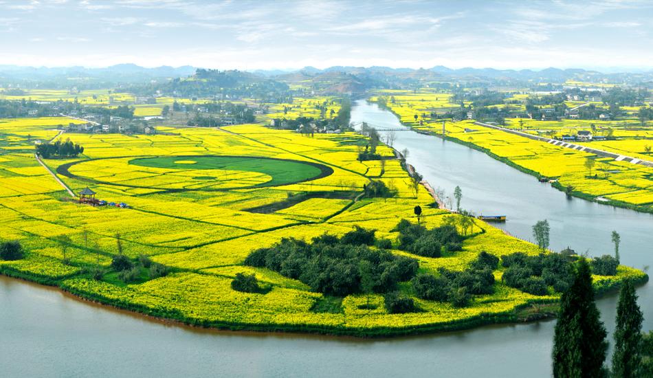 中国最大太极图