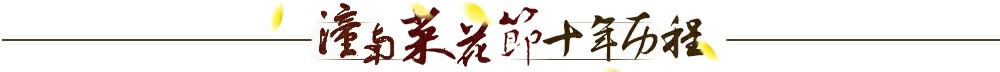 菜花节十年历程