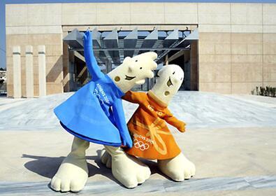 财经    悉尼奥运会的吉祥物,是3种澳大利亚特产动物,代表了澳大利亚