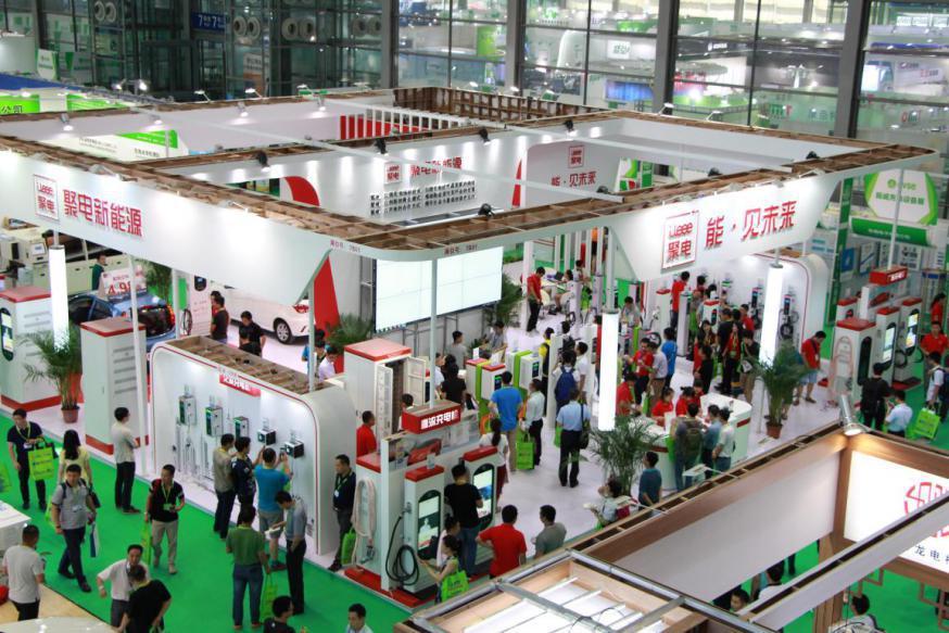 聚电新能源携45款充电桩产品,亮相深圳国际充电设备展