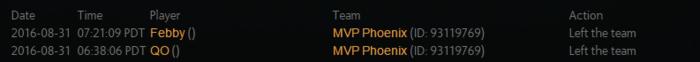 QO/Febby/DuBu已离队MVP.Phx战队只剩躯壳