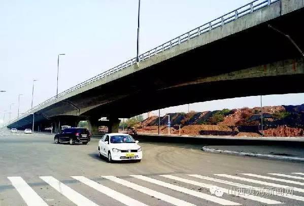 通车啦 太原南站周边多条道路今日正式通车