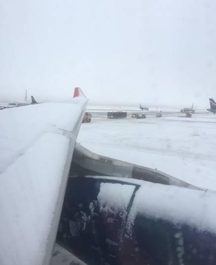 北京因雾霾航班大面积取消!俄航却提前到达