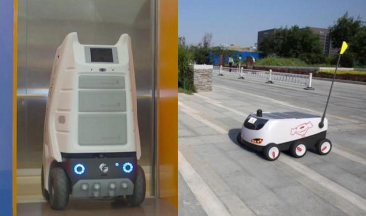 除了菜鸟小G和京东无人配送车,配送机器人你还应该知道这些