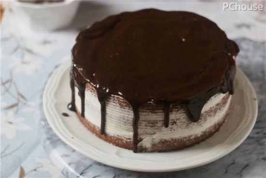 甜蜜升级巧克力诱人裸蛋糕简单做