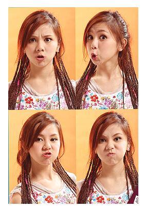 邓紫棋携手美图秀秀推出专属表情包 音乐小天后开启表情包模式图片