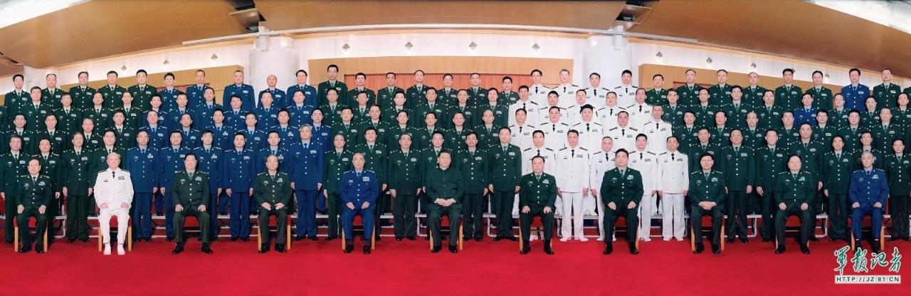 军改后军级阵容曝光 6位将军特别亮相(图)