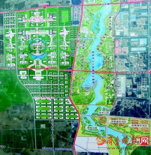 章丘2020年规划图圣井