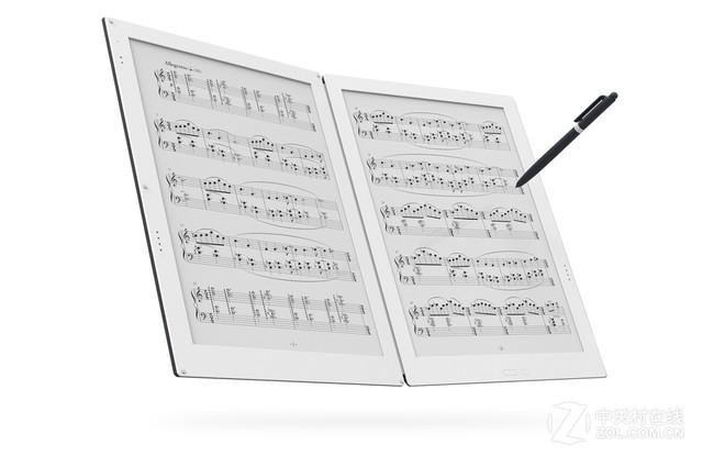 1600美元纸乐谱?Gvido发布双屏对开平板