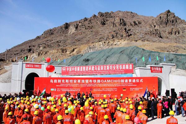 """一带一路上的奇迹――""""中亚第一隧""""共计47.3公里"""