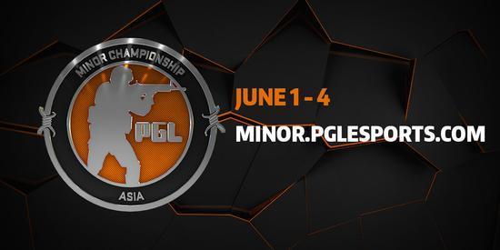 《CS:GO》亚洲Minor赛程公布6月1日在北京开赛