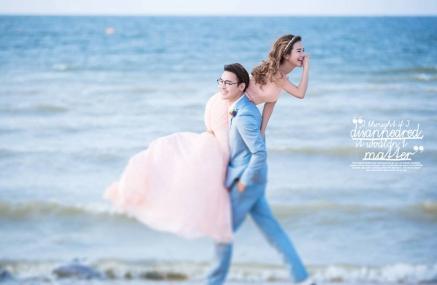 还相信山东青岛婚纱摄影前十名哪家好拍婚纱照团购价格吗?