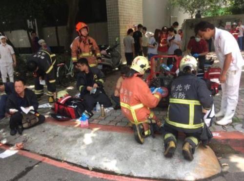 台月子餐工厂气爆 已有5男7女受伤