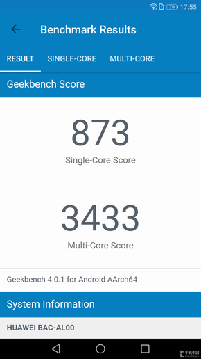Geekbench 4性能测试