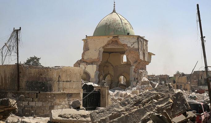 IS终结!伊拉克总理宣布摩苏尔努里清真寺周边解放