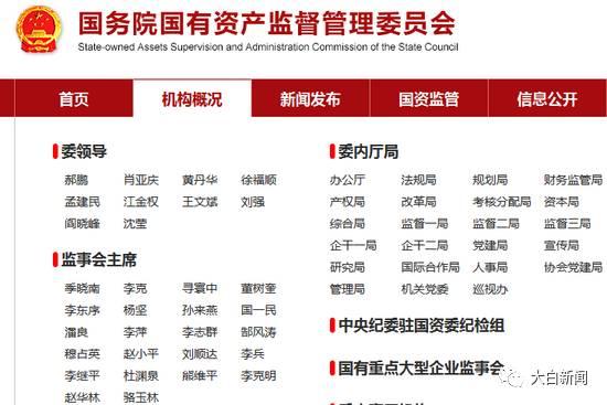 国务院国资委原党委副书记、副主任张喜武被撤销党内职务、行政撤职