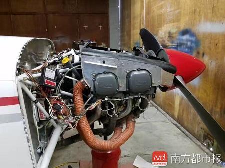 """李湘宏的飞机""""RV-7""""发动机检修.jpg"""