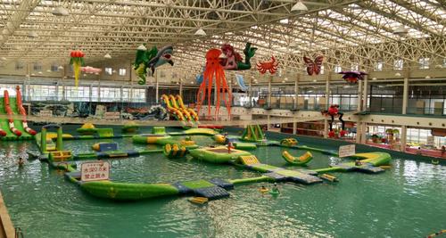 夏天玩水好去处:室内水上乐园就在蟹岛度假村