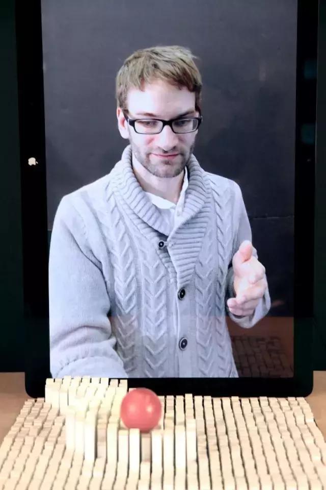 麻省理工爆惊天发明:真实的3D交互,这才是高科技!