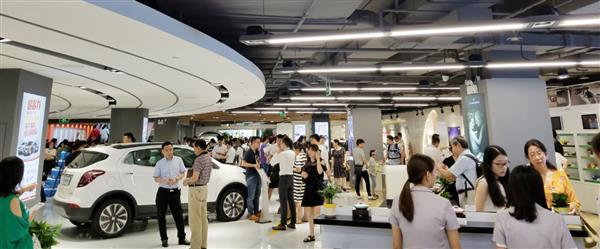 开业两天卖出30多辆豪车苏宁汽车超市要火