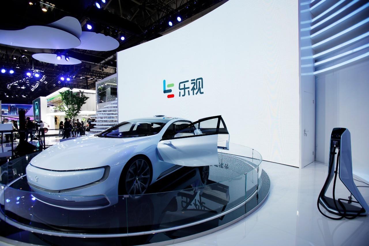 京车展上展出的乐视汽车-消息称贾跃亭本周回国 FF91已经开始路测高清图片