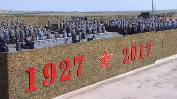 日本网友第一次看中国建军节阅兵直播 啥反应?