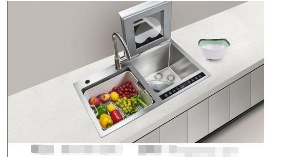 精简便是最好的厨房设计,康道水槽洗碗机赋予了小户型厨房空间无限